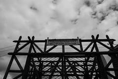 Struthof (RIch-ART In PIXELS) Tags: blackandwhite clouds monochrome fence natzweiler lesvosges france leicadlux6 leica dlux6 barbedwire natzwiller struthof