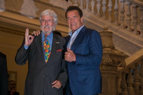 Jean-Michel Cousteau & Arnold Schwarzenegger