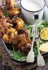 Portuguese Chicken S (alaridesign) Tags: portuguese chicken skewers with coriander yogurt sauce
