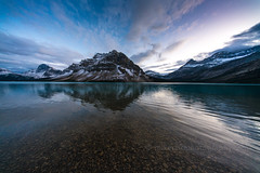 Bow Lake Reflection 10mm (www.mikereidphotography.com) Tags: vermillionlakes banff fallcolors bowlake canadianrockies reflection sony mirrorless a7r2 zeiss