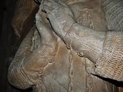 ca. 1345-1350 - 'knight, probably Werner Falk(e) (Falcke) von Munsweiler (+after 1333)', Église Notre-Dame de l'Assomption, Rouffach, dép. Haut-Rhin, France (RO EL (Roel Renmans)) Tags: 1330 1340 1345 1350 knight ritter ridder chevalier caballero cavaliere werner falk falke falcke rouffach elzas alsace elzass church église kirche kerk iglesia armor armure armour harnas harnisch rüstung armadura armatura bascinet bacinet camail aventail coatofplates plattenrock hauberk kettenhemd cotte de mailles vervelles heaume great helm helmet topfhelm gran yelmo poleyn surcotte surcoat wappenrock waffenkleid waffenrock mamelieres chain ketten sword dagger notre dame l assomption tomb effigy tombeau grabmal efigie grafbeeld cuir bouilli