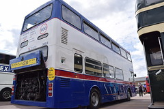 Preserved MCW Mk2 Metrobus 3053 - engine cover up