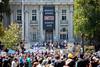 No to Marxism, Berkeley California, August 27, 2017 (Thomas Hawk) Tags: america bayarea berkeley eastbay marxist notomarxism usa unitedstates unitedstatesofamerica westcoast protest california us fav10 fav25