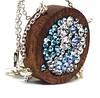 Swarovski Crystal Pendant (Necklace), Contemporary Wooden Pendant (Camelia Neagu-Cogalniceanu (GlassIdeas)) Tags: sapele woodenjewelry wood swarovski preciouswoodenjewelry lemn bijuteriecontemporanadinlemn pendantnecklace contemporaryjewelrywoodenpendantsapelesterlingsilvernecklacewoodswarovskicrystalscopyrightglassideasglassideassoldoneofakindjewelrywoodenjewelryswarovski