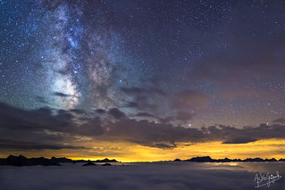The Milky Way from Pic Du Midi