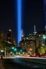 Tribute in Light. September 11, 2017 (BrianEden) Tags: manhattan xpro2 tribute newyork sept11 fujifilm ny wtc worldtradecenter nyc newyorkcity tributeinlight tributeinlights financialdistrict september september11 fuji unitedstates us