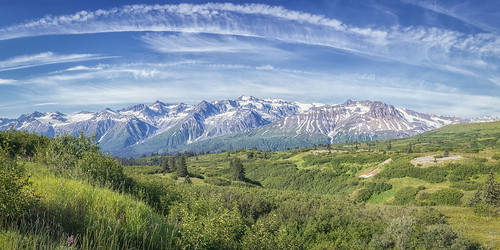View from Chilkat Pass