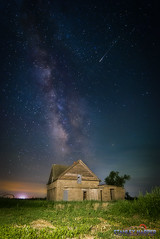 Abandoned House (Black Mesa Images) Tags: astrophotography black cimarron country county etling exposure harper images lake landscape level lighting long low mesa milky night nightscape oklahoma perseids photography rural sky stanley stars texas way