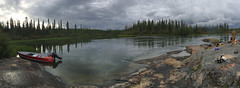 Northern River (Fish as art) Tags: paulvecseiphotography panorama river northwestterritories canada landscape boating fishbiology expedition iphone