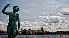 Stockholm, Sweden (MeriMena) Tags: flickrtravelaward eos450d canon merimena flickrsbest travel ngc cities cityscape city europe sweden clouds stockholm