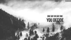 Decision (Wallpaper) (crisp.per) Tags: black white bw decision inspirational inspiration motivation quote motivational minimal fullhd hd wallpaper laptop desktop pc success victory