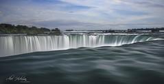 Niagara Falls (Alec_Hickman) Tags: niagara falls waterfall water river canada landscape waterscape movement longexposure leebigstopper light shadow colors trees mist sun
