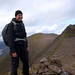 Me on the summit of Stob Cadha Gobhlach thumbnail