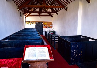 Inside The Church of St. Maelrhys