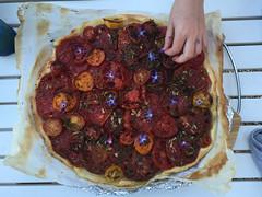 Tomatenkuchen / tomaatetaart