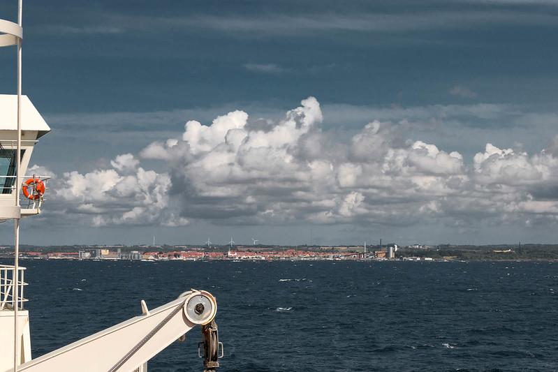 Heading to Bornholm