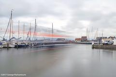 Feast boat in Marken, Netherlands (George Pachantouris) Tags: marken blackandwhite black white monochrome long exposure nd400