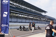 Not your average pace car (ShannonVanB) Tags: gokarts karting ims indy500 indyminimini pacecars running marathon 25miles prerace