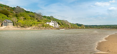 Waterfront living.... (AJFpicturestore) Tags: rivernevern waterfrontliving tidal boathouse newport pembrokeshire wales alanfoster