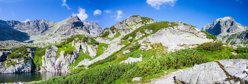 Starolesna Valley. High Tatras. Slovakia