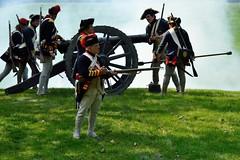 DSC_4462 (Mark Morello) Tags: brownsraid fortticonderoga newyork ticonderoga lakechamplain lakegeorge encampment battle reenactment revolutinarywar 1777 britishregulars vermontstateregulars mountdefiance gerrmans usa