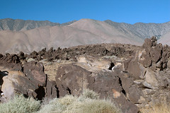 Fossil Falls 01 (5) (PorchPhoto) Tags: nikon nikond70s california desert desolate rugged 395 volcanic lava cinder owensvalley old ancient