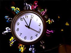 Clock Pony (hailjoyce) Tags: ikea hack clock toys pony little