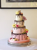 tootsie drip hampton court (Jen's Cakery) Tags: jens cakery jenscakery london cake wedding weddingcakes drip dripcake ombre hampton court palace