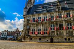 Stadhuis Gouda (Emilio Guerra) Tags: gouda holanda lowcountries nederland netherlands paisesbajos southholland zuidholland