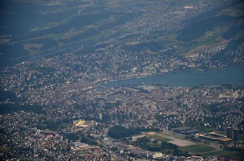 Luzern from Mt. Pilatus