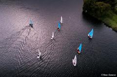 Above the waves (Steve Samosa Photography) Tags: eccleston england unitedkingdom gb sailing sailboats drone aerial view