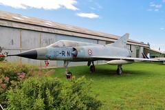 55 / 10-RN Dassault Mirage 3C @ Musée Européen de l'Aviation de Chasse 15th June 2016 (_Illusion450_) Tags: aérodromedancone montélimar muséeeuropéendelaviationdechasse 150616 museum 55 10rn dassault mirage 3c frenchairforce lflq xmk