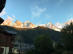 Coffee break view (SteeveeGee) Tags: chamonix france alps montblancmassif