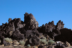 Fossil Falls 01 (16) (PorchPhoto) Tags: nikon nikond70s california desert desolate rugged 395 volcanic lava cinder owensvalley old ancient