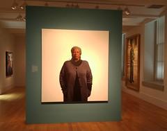 American Portraits Toni Morrison 20170618_124950 (CanadaGood) Tags: usa america dc washington smithsonian nationalportraitgallery art museum artgallery cameraphone 2017 thisdecade canadagood colour color painting