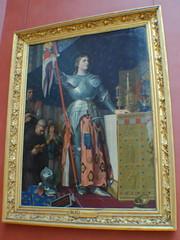 Paris (mademoisellelapiquante) Tags: museedulouvre louvre arthistory art paris france joanofarc painting