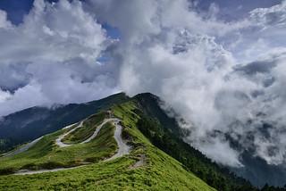 Clouds dancing, Mountain Hehuan 合歡山