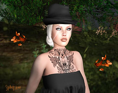 Alone *Papillons* (Sydney Levee) Tags: lea addicted secondlife amazing maitreya lelutka hurley glamaffair viewer firestorm librairy sim virtual landscape face decor lingerie prim glamour post fans avatar babe pretty woman femme group flowers nature forest forêt beautiful artist shows photoshop continent roleplay pinups picture photo photographer galleries story alive love pets animal beauty composition color art fear destinations fashion
