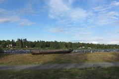 boat (helena.e) Tags: helenae semester vacation ålga husbil motorhome norrland kukkolaforsen camping torneälv water vatten älv båt boat finland suomi