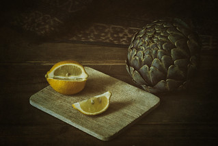 Artichoke and Lemon