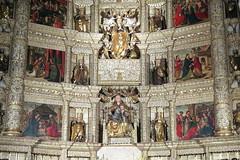 LLANES - BASILICA DE SANTA MARIA - DETALLE DEL ALTAR MAYOR (mflinera) Tags: llanes asturias basilica santa maria iglesia arquitectura