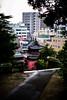 崇福寺の正門 - Sofuku-ji main gate (burak.maasoglu) Tags: city soufukuji gate roof oriental japan nagasaki temple red black 赤い 崇福寺 長崎 お寺