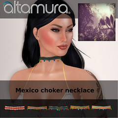 Altamura @ The Chapter Four - August Round (Altamura Bento Avatar) Tags: altamura bento 100originalmesh aggie choker mexico fashion avatar mesh head body fullbody secondlife sl skin animation fitted eyelashes nails feet makeup shoes alpha hud applier clothing pose
