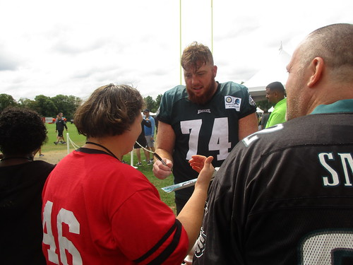 Athletes Attend Eagles Training Camp