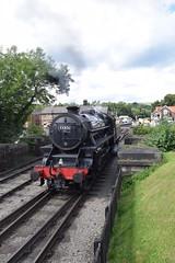 Grosmont (DarloRich2009) Tags: 44806 steam steamengine steamtrain steamloco steamlocomotive britishrailways br lmsstanierclass5 black5 lms londonmidlandscottish 5mtclass 5mt nymr northyorksmoorsrailway northyorkshiremoorsrailway yorkshire northyorkshire moors yorkshiremoors northyorkshiremoors grosmont grosmontstation grosmontrailwaystation