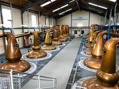 Glenfiddich Distillery stills