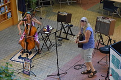 DSC_0010 (Emerald Chamber Players) Tags: lotus unfolding eugene oregon atrium 7222017