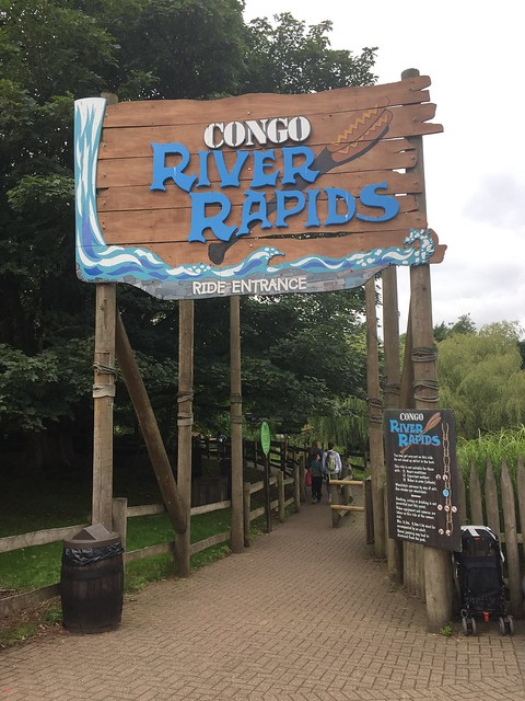 Congo River Rapids Entrance 2017