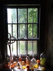 still life (Ian Robin Jackson) Tags: stilllife drum drumcastle fruit bottles age colours view sony zeiss light autumn fall september 2017
