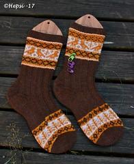 2017-08-04 Kanteletar (3) (hepsi2) Tags: tds2017 tds2017kanteletar kanteletar socks sukat colorwork strandedknitting